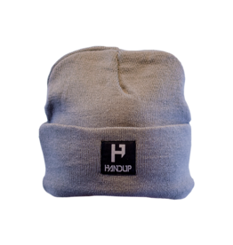 Handup  Beanie - H Logo Knitted - Grey