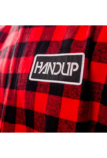 Handup  Zip Up Vest - Red Flannel