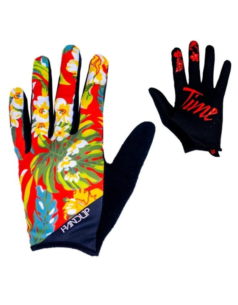 Handup  Gloves - Red Floral