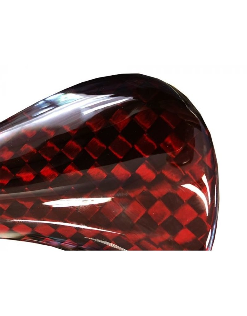 Beast Components  Beast Components Pure Carbon Saddle SQUARE Red