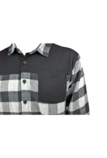 Handup  FlexTop Flannel - Grey & Black