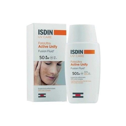 ISDIN ISDIN Fusion Fluid SPF50+ - Zonbescherming