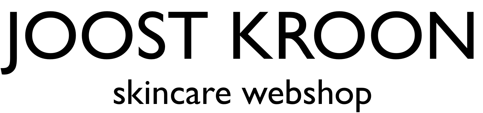 Skincare Webshop Joost Kroon kliniek