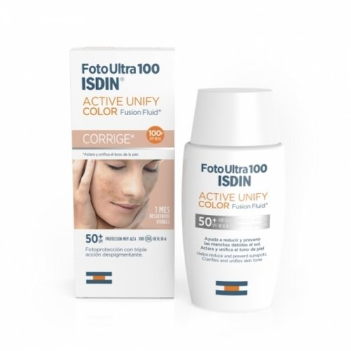 ISDIN ISDIN Active Unify COLOR SPF 50 - Zonbescherming