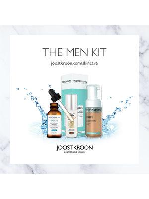 Joost Kroon cosmetische kliniek THE MEN KIT