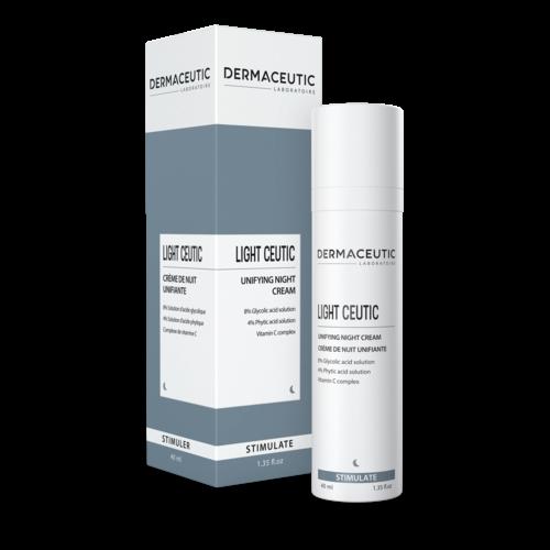 Dermaceutic Dermaceutic Light Ceutic - Huid egaliserende nachtcreme - 40 ml