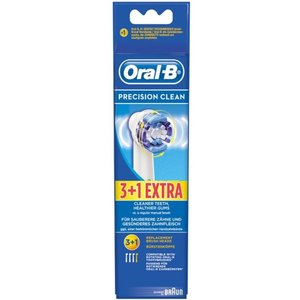 Oral B ORAL-B Precision Clean opzetborstel (3+1 stuks)