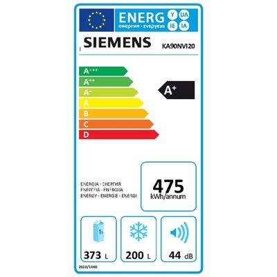 Siemens SiemensKA90NVI20 Amerikaanse koelkast