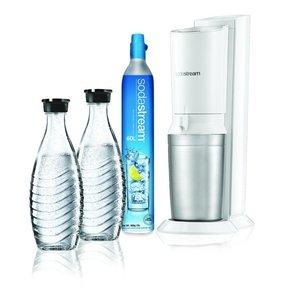 SodaStream Sodastream Crystal White + 2  karaffen + clinder