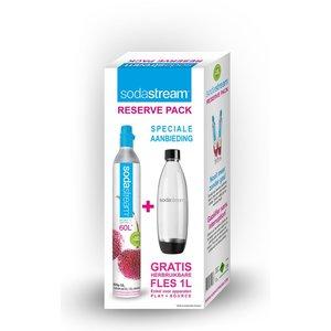 SodaStream Sodastream Cilinder + Fuse fles Promo Reserve Pack