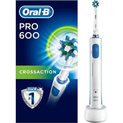 Oral B Oral-BPRO600 Tandenborstel Orange Crossaction