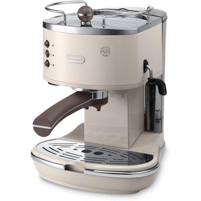 Delonghi De'Longhi Icona Vintage ECOV311.BG Handmatige Espressomachine - Beige