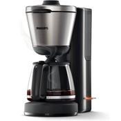 Philips Philips koffiezetapparaat HD7695/90 zwart/zilver, glaskan