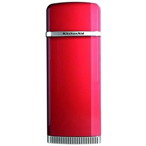 Kitchenaid KitchenAid KCFME60150L Retro koelkast met vriezer Rood