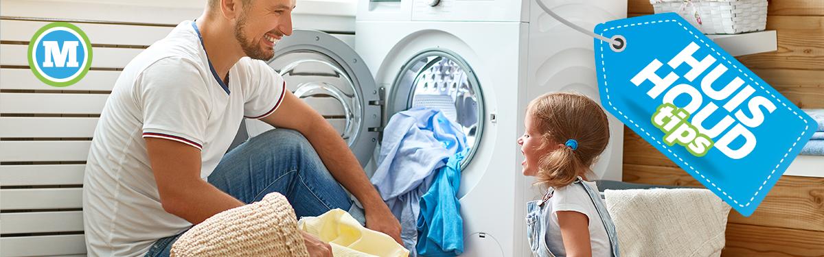 Huishoudtips   Wasmachine gebruik