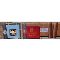 Various foreign cigars brands