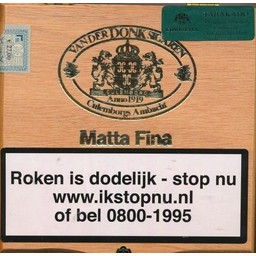 vd Donk Matta Fina  20PCS