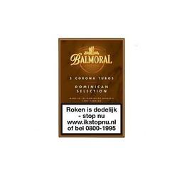 Balmoral Dominican Selection 5 Corona Tubes