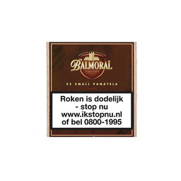 Balmoral Dominican Selection Small Panatella 25