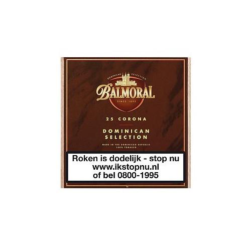 Balmoral Dominican Selection Corona 25