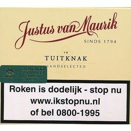Justus van Maurik Tuitknak 10