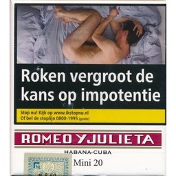 Romeo Y Julieta Mini 20