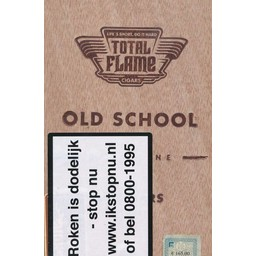 Total Flame Dark Line Old School