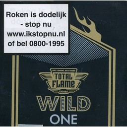 Total Flame Wild One Robusto Tubos