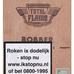 Total Flame Dark Line Bobber