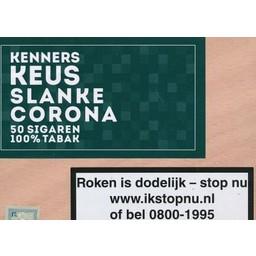 KennersKeus Slim Corona 50 PCS