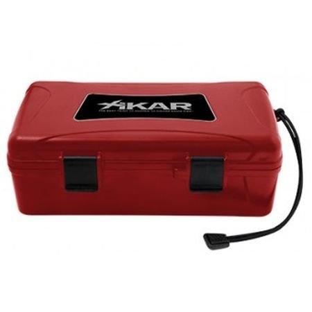Xikar Travel Humidor for 10 cigars Red