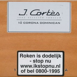 J.Cortes Dominican Tubos Corona