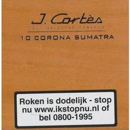 J.Cortes Tubos Corona Sumatra