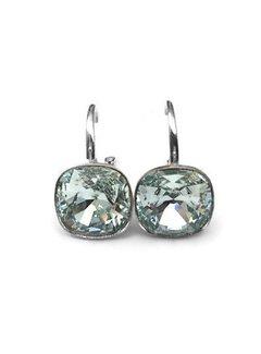 Kywi Jewelry Oorbel 925 zilver Globe Swarovski Light Azore