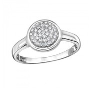 Ring Thousand Stones 925 zilver 18 mm.