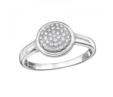 Kywi Jewelry Ring Thousand Stones 925 zilver 18 mm.