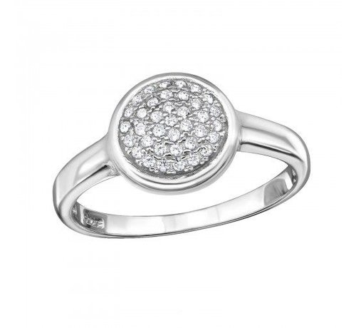 Kywi Jewelry Ring Thousand Stones 925 zilver