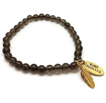 Kywi Jewelry Armband Rookkwarts Veer