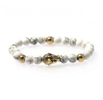 Bud to Rose BudtoRose armband Buddha Marble Gold