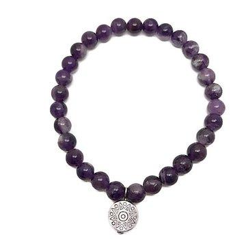 Kywi Jewelry Armband Amethist Paars