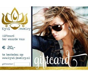 Kywi Jewelry E-cadeaubon 2