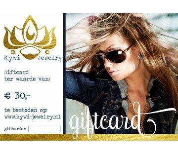 Kywi Jewelry E-cadeaubon 4
