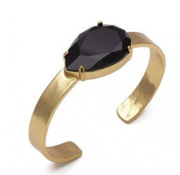 Bud to Rose BudtoRose armband Noble black Gold