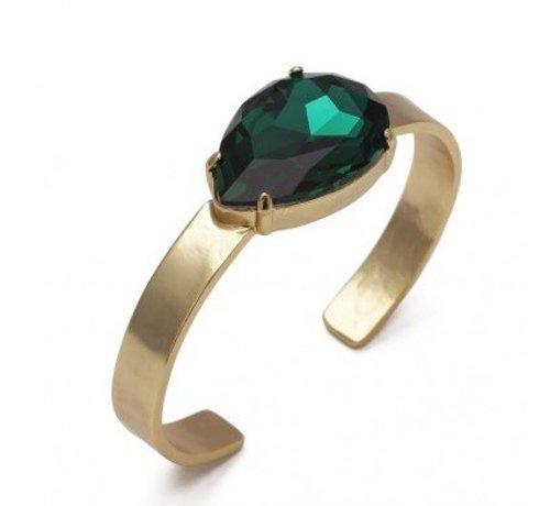 Bud to Rose BudtoRose armband Noble Green Gold