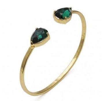 Bud to Rose BudtoRose armband Ceylon Green Gold