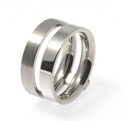 Bud to Rose BudtoRose Ring Fenia steel Silver