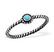 Ring Bali Turkoois 925 zilver