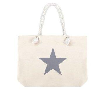Kywi Jewelry Tas Shopper Star Sand Grey