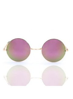 Kywi Jewelry Zonnebril Hippie Fashion rose gold Purple