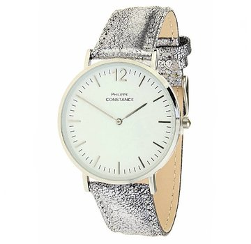 Horloge PHILIPPE CONSTANCE Wowlichious Cracked Silver